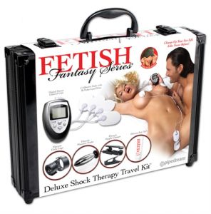 Fantasy Series Deluxe Shock Therapy Travel Love Kit Electric Stimulator Discreet