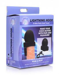 Lightning Hood E-Stim Penis Head Teaser
